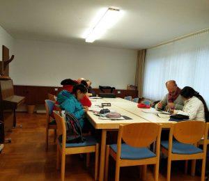 Hausaufgabenbetreuung im Gemeindehaus Stiegel (C) Chris
